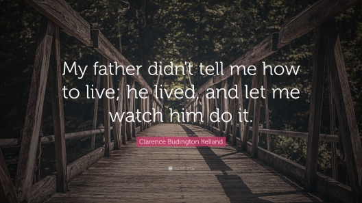 My father quote
